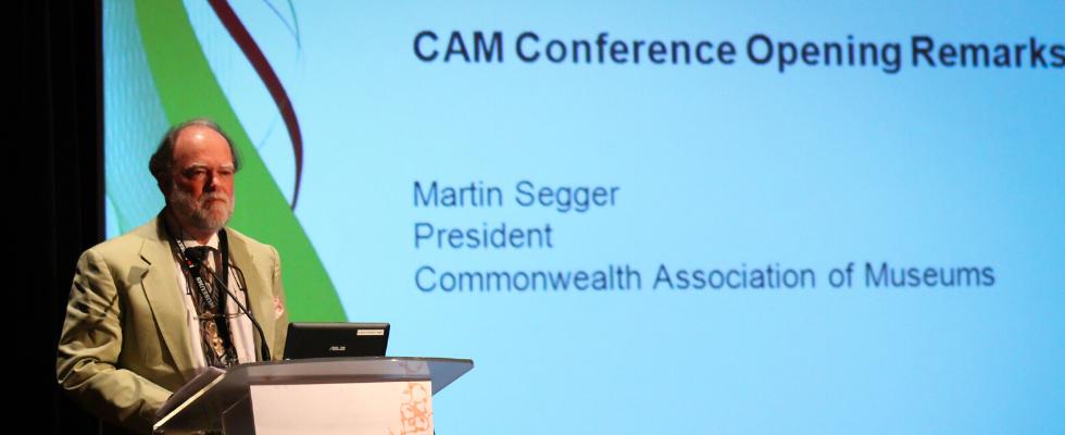 CAM Conference Martin Segger